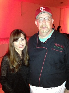 Chef Pat Coyle, the Director of our Culinary program with me