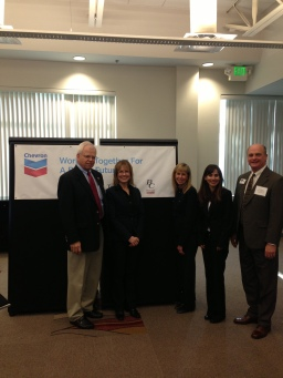 The Bakersfield College Team at Chevron!