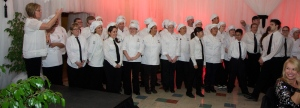 BC's culinary students, the Renegade Chefs, who prepared the dinner