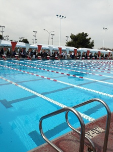 Central California Swimming Championship at Bakersfield College Feb 15 - 18, 2013