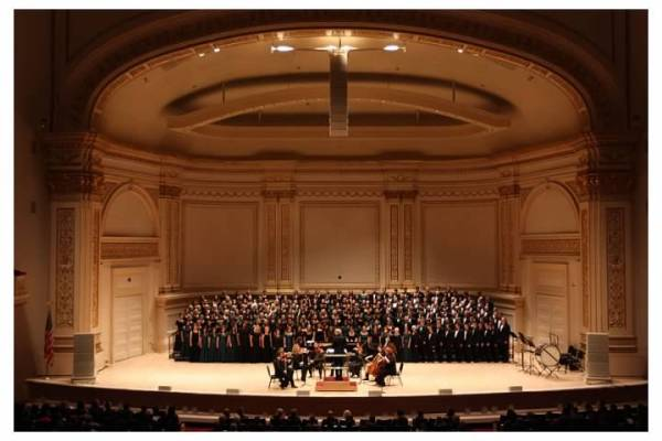 Bakersfield College Chamber Singers at Carnegie Hall