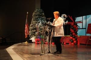 Lisa Harding at the Nursing graduation Dec 12 2013