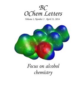 OChem Letters April 2014