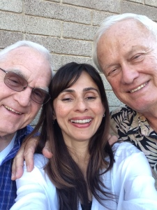 selfie with Bob Hodel and Bob Covey Sep 4 2014