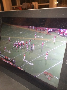 watching the game on ipad oct 11 2014