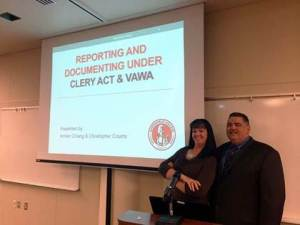 Amber and Chris Clery Symposium Oct 2014