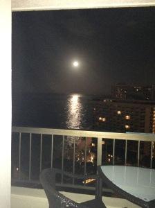 Full Moon April 2 2015 early morning