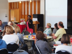Odella Johnson leads Summer Institute