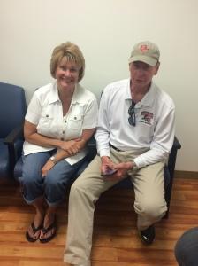 Sharon and Bill Baker Oct 3 2015