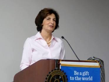 Cathy Abernathy, Rotary, Nov 19 2015