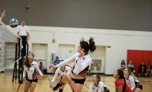 Renegade Volleyball in action