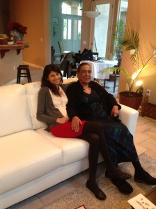 Eisha和Mom 2015年12月25日
