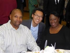 Reggie Bolton, Vice Fong, Odella Johnson. Photo: Karen Goh