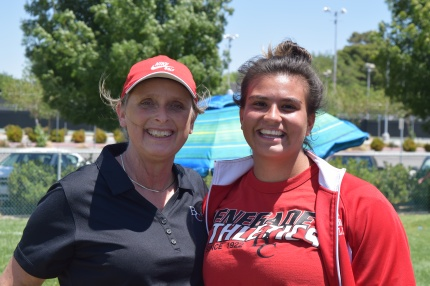 Janet Tarjan and her student Marilyn