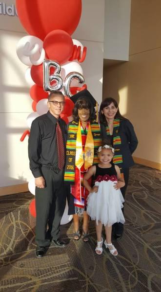 Tamika Payne and daughter