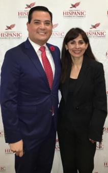 Jay Tamsi and Sonya Christian