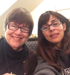 凯特和索尼娅2015年1月25日在奥克兰