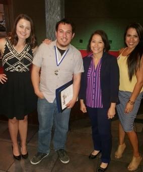 Lauren Skidmore, Jose Chavez, Connie Gonzales, Lisa Kent