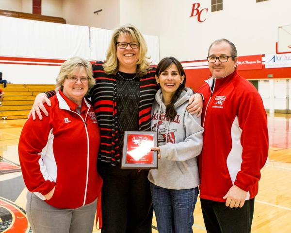 coach-dahl-receiving-an-award-for-her-300th-game-on-jan-21-2017