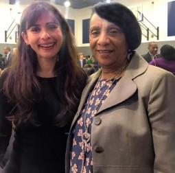 Sonya Christian, Pastor Martha johnson