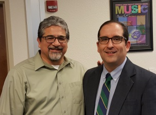 Dr. Mark Martinez,and Jeff Flores