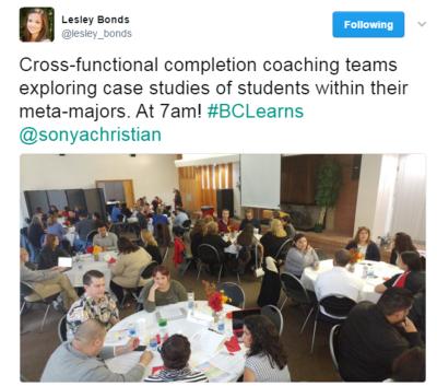 Lesley Bonds 2017年3月23日完成辅导社区