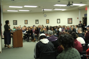 Women in Middle Passage event
