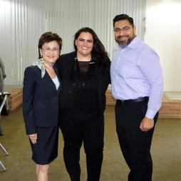 Karen Goh, Chelsea Esquibias, Juan Avila