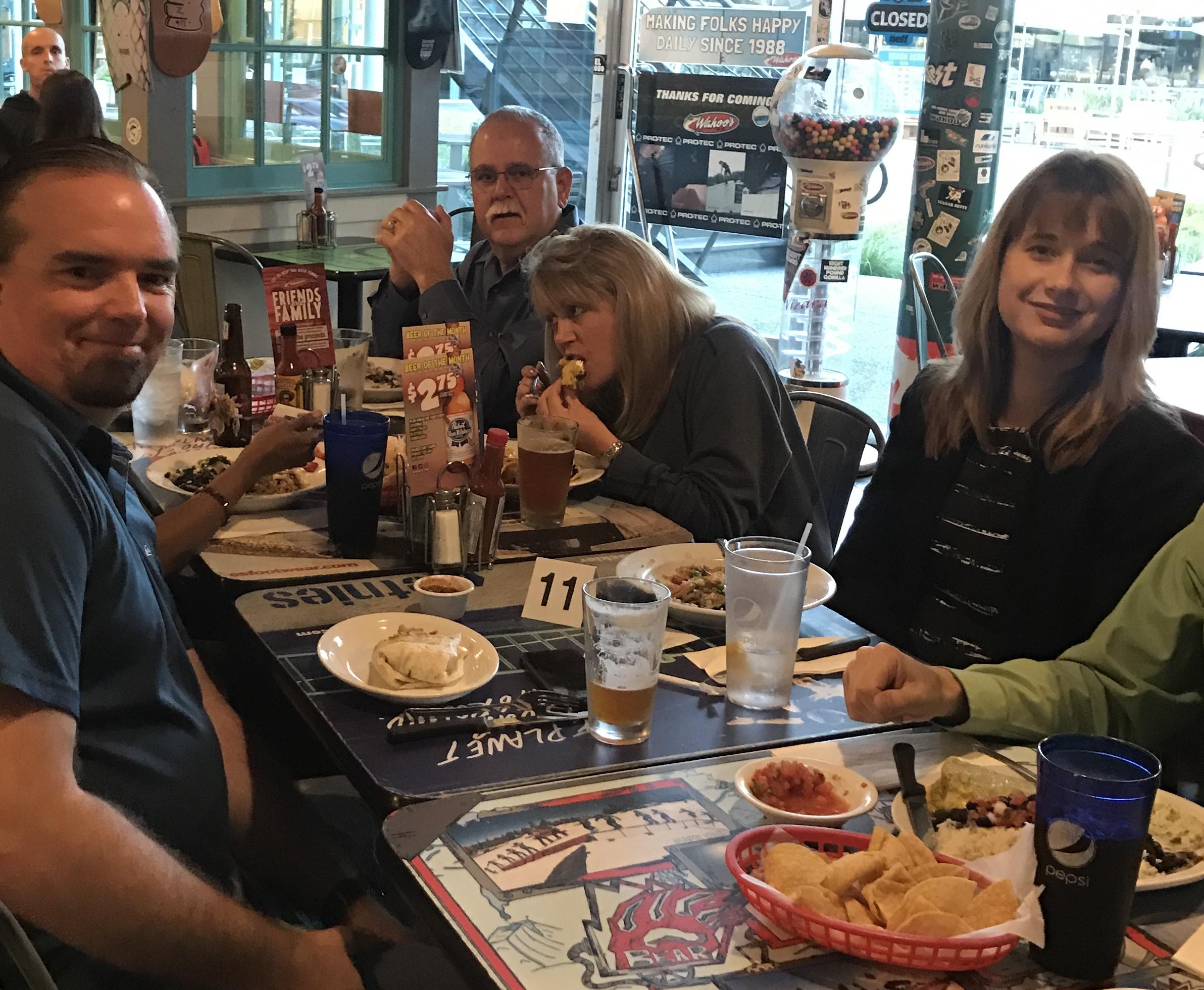 KCCD at dinner 2 April 6 2017
