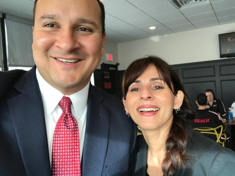 Mario Rodriguez and Sonya Christian April 18 2017