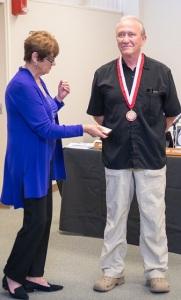 Prof Emeritus Phil Mesel with Kay Meek April 13 2017