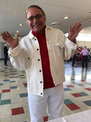 Robby Martinez at Becky Whitson's retirement April 21 2017