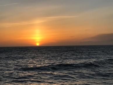 Sunset at Manhatten Beach April 27 2017