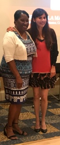 Odella Johnson和Sony188金宝搏app苹果a Christian,2017年5月19日