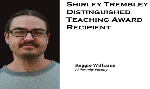 Reggie Williams recipient of the Shirley Trembley Award May 12 2017