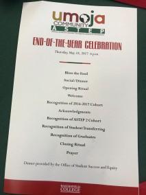 End-of-the-year Umoja Celebration