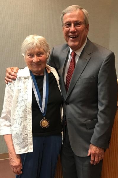 Carol Hewer and Bill Thomas May 4 2017