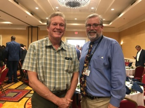 Steve Murray and Tom Burke