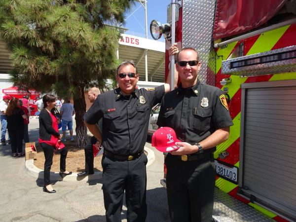 Bakersfield Fire department Tyler Hartley and Ross Kelly
