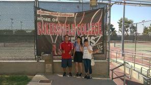 Konomi & Nanaka meet BC Tennis Coach Jacobs