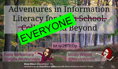 Mindy Wilmot Adventures in Information