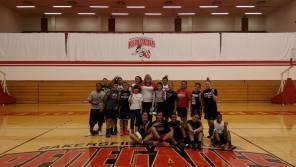 Nanaka & Konomi meet BC Basketball Team