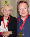 Betty Younger and Milt Younger 100 stars