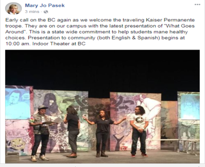 Mary Jo Pasek Facebook Sep 30 2017