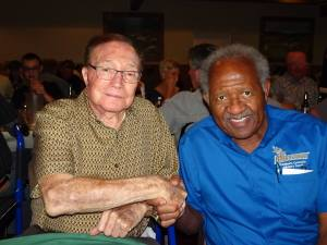Milt Younger and Horace Mitchell from FB