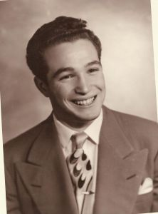 Milt younger at 18 TBC Courtesy Maureen Buscher-Dang