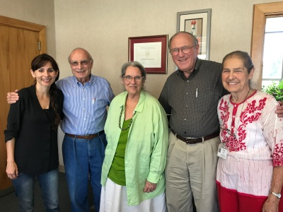 Sonya Christian, Jack Hernandez, Nan Gomez Heitzeberg, Bob Allison, Jerry Ludeke Sep 28 2017