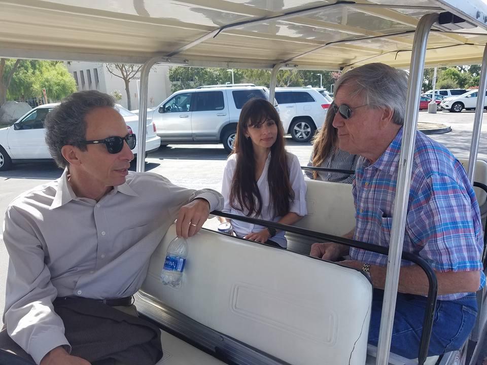 Tom Epstein, Sonya Christian, Bill Thomas