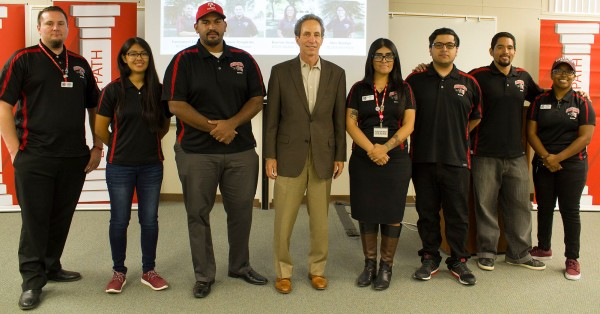 Tom Epstein with Bakersfield College Student Government Leadership