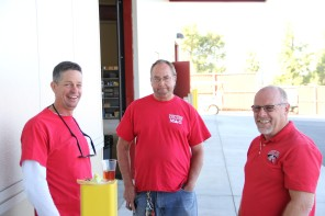 Andy, Patrick, and Jim at Open House